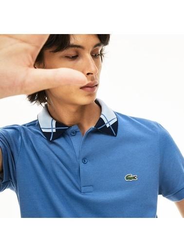 Lacoste Erkek Regular Fit Tişört PH8570.PQ8 Mavi